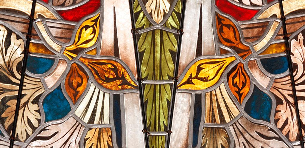 Kirche Leuben Fensterdetail