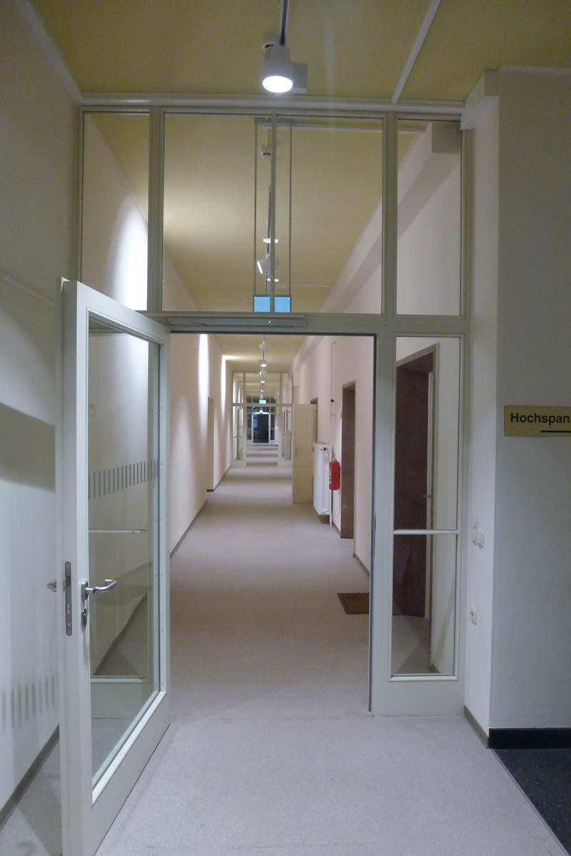 TU Dresden Binderbau Brandschutz
