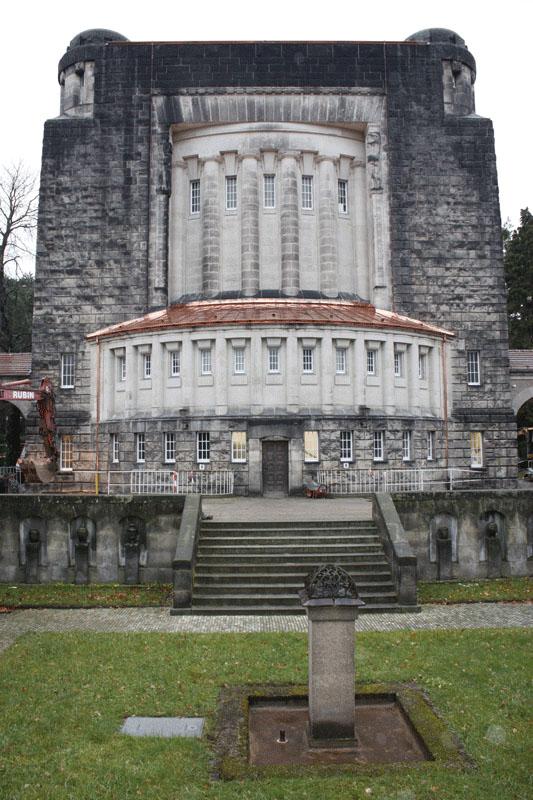 Tolkewitz Krematorium Dachsanierung