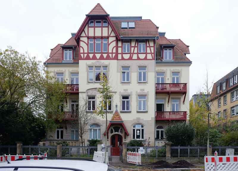 Sanierung Wohnhaus Dresden