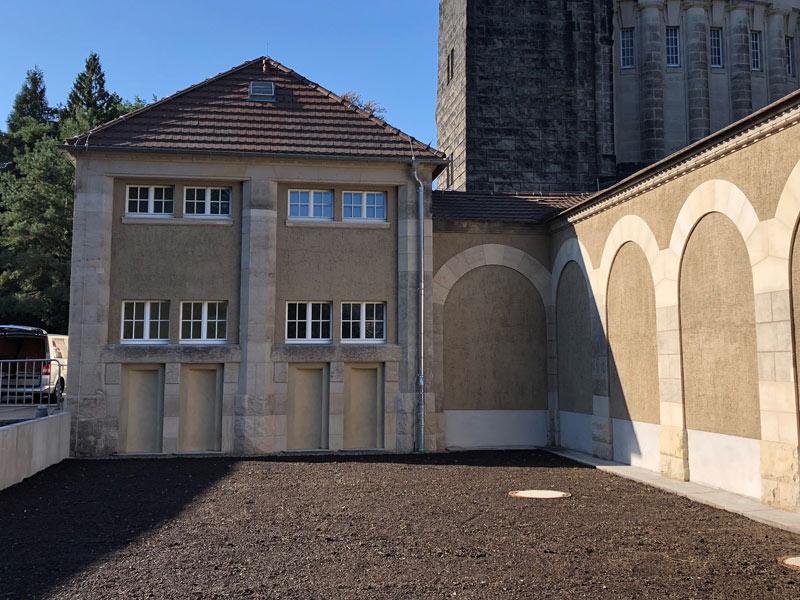 Fassadensanierung Urnenhain Dresden Tolkewitz